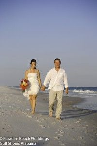 Gulf Shores AL is the place for your romantic beach wedding!