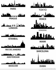 City Skylines! I would love to paint this in the master bathroom.