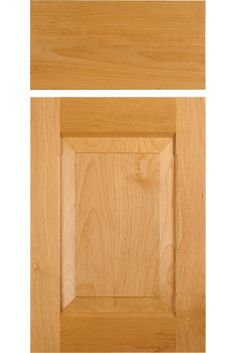 "CF101 Combination Frame Cabinet Door in Select Alder with OE5,  IE3 on the rails,  chamfered inside edges on the stiles and RP3.  Slab drawer front with OE5.  Stile width: 2-3/8"" Rail width: 3-1/8"""