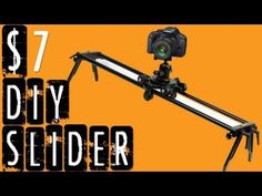 DIY Camera Slider for $7 in 3 Minutes (Ep. 1)