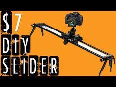 DIY Camera Slider for $7 in 3 Minutes (Ep. 1)