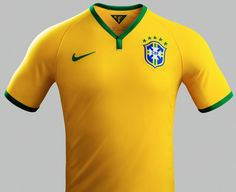 Brazil Home Kit for World Cup 2014 #worldcup #brazil2014 #brazil #soccer #football #BRA