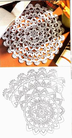 Breathtaking Crochet So You Can Comprehend Patterns Ideas. Stupefying Crochet So You Can Comprehend Patterns Ideas. Crochet Doily Diagram, Crochet Mandala Pattern, Crochet Circles, Crochet Round, Crochet Chart, Crochet Squares, Crochet Home, Filet Crochet, Crochet Doilies