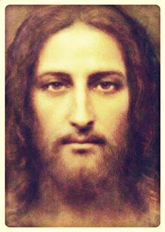 Jesus Our Savior, Jesus Prayer, Jesus Mother, Pictures Of Jesus Christ, Jesus Painting, Christ The King, Jesus Face, Light Of The World, Holy Ghost
