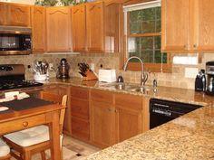 Amarello Boreal granite countertop pictures - Yahoo Search Results