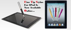How to get mobile accessories and fine tip stylus for iPad easily online?