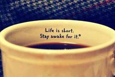Met #koffie blijf je wel wakker :-)