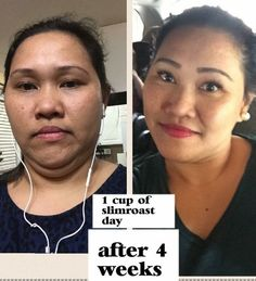 I have noticed my skin is clearing up the thinner I get.  Side effects I can definitely live with. Congrats to you, Jane PS You look beautiful!!  She  just used our Slimroast coffee and sometimes trim as well as  taking our immune booster 2-3 x a day...!! I've heard that the #12in24 also improves your skin! Hers is glowing!! Woot!! She even looks younger!! Way to go Jane  Thanks for sharing!! #slimroastinmycup  #weightloss #12in24