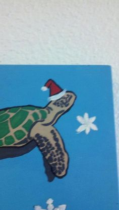 Christmas Honu (Sea Turtle). $10.00, via Etsy.