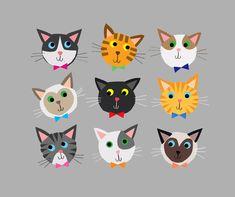 cally jane studio: CATS!