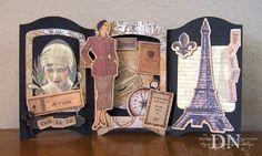 Paper, Ink, Scissors, & Stamps: Fun With Vicki's Shadow-Box Dies … accucut theater die