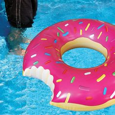 Donut Pool Float.  Love it!