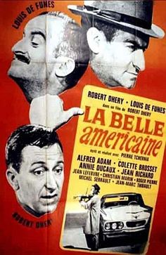 Прекрасная американка (1961) Франция .комедия Механик Марсель Перньон совершенно случайно покупает за бесценок великолепную новую американскую машину. Появление такой машины в рабочем районе вызывает подозрение полиции