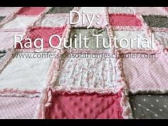 How to make a Rag Quilt: Tutorial | Confessions of a Homeschooler