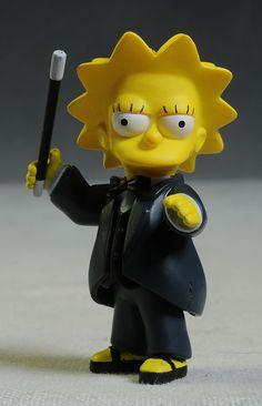 Celebrity Simpsons Penn & Teller action figures by NECA