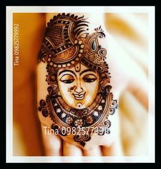 Shree Krishna Indian Henna Designs, Mehndi Designs Book, Modern Mehndi Designs, Mehndi Design Pictures, Dulhan Mehndi Designs, Wedding Mehndi Designs, Beautiful Mehndi Design, Latest Mehndi Designs, Mehndi Designs For Fingers