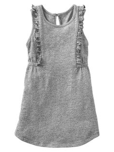 Marled ruffle dress | Gap Kids.  So cute!!!!