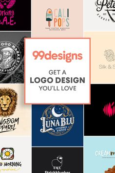 When it comes to a logo that represents you, your business, and (most importantly) your brand, you can't settle for mediocre. Get a logo design you'll love with the expert designers at 99designs — guaranteed.