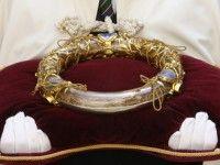 Suposta coroa de espinhos usada...