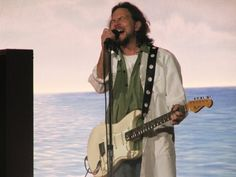 Eddie Vedder @ the ryman in Nashville on 6-17-09 I actually took this picture! They were watching like hawks for picture takers...got lucky