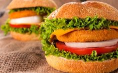 [On déguste] 10 recettes de burgers - Today we cook Fish Burger, Salmon Burgers, Chimichurri, Fish And Chips, Chutney, Bagel, Health Care, Easy, Chicken