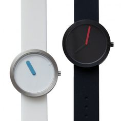 The Tempo watch comes in two styles, ALLERGO and LENTO. Allergo watches appear as only the fast moving second hand is showing; therefore, subjectively let you feel a faster passing of time. Lento watches only show the blue hour hand is displayed on the hour-plate; thus make you feel slow moving of the hour time. No matter which you choose to have this is a watch in harmony with you that will accompany you in enjoying life's instant moments.