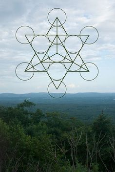 This listing is for one print of the above pictured image. Photo taken @ Minnewaska State Park and edited to feature a sacred geometry Sacred Geometry Symbols, Sacred Geometry Tattoo, Geometric Designs, Geometric Shapes, Divine Proportion, Psy Art, Geometry Pattern, 1 Tattoo, Flower Of Life