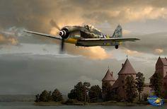 Stricken FW 190 A-8