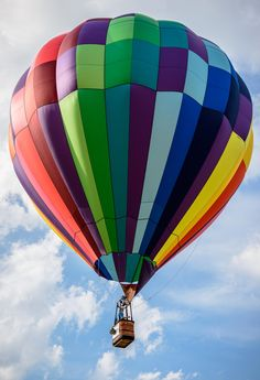 Take your special someone on a hot air balloon ride in north Georgia!