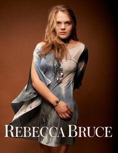 Women's Cascade Tunic, by Rebecca Bruce by RebeccaBruce on Etsy