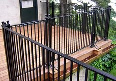 Aluminum Deck Railing Ideas | Outdoor Design and Ideas