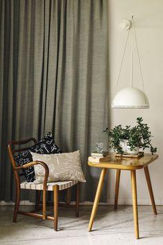 Scandinavian Home Accessories Textiles - Finnish Design Onnenmaa by Saana ja Olli. Spacious Living Room, Living Spaces, Matisse, Ikea, Scandinavian Living, Decorative Cushions, Trends, Window Coverings, House Rooms
