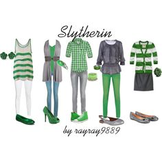 Slytherin. I may be a Gryffindor but these are adorable!