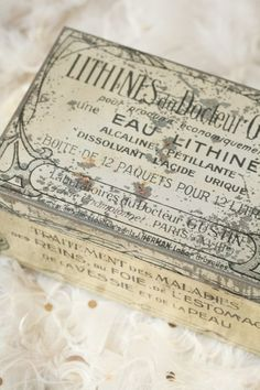 Old French Boxes |  BrocanteWebShop.nl