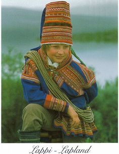 traditional dress of Lapland, Finland