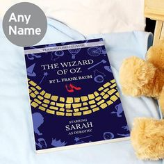 Personalised The Wizard of OZ Novel - 1 Character Personalized Gift Cards, Personalized Christmas Gifts, Presents For Kids, Gifts For Kids, Personalised Childrens Books, Special Symbols, Character Home, Christmas Books, Wizard Of Oz