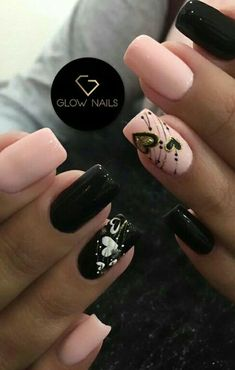 Crystal Nails, Perfect Nails, Cute Nails, Manicure, Nail Designs, Make Up, Nail Art, Crystals, Designed Nails