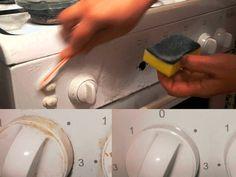 Ako vyčistiť práčku a sporák Vash, Tricks, Plastic Cutting Board, Washing Machine, Life Hacks, Nutella, Kitchen Appliances, Quilling Designs, Cleaning
