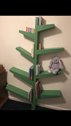 Built My Son A Tree Bookshelf Diy Kid Nursery