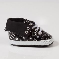 Itty bitty designer-look baby shoes