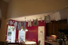 Real Event Baby Baxley: Clothes Line