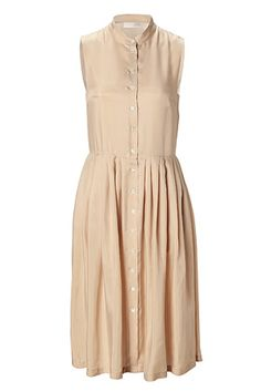 STYLEBOP.com | NudeSleevelessShirtDressbyCACHAREL | the latest trends from the capitals of the world