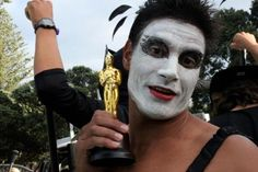 LMAO.  Manu Bennett as The Black Swan