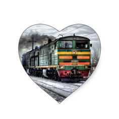 Diesel Locomotive Gifts for Train Lovers Sticker #SOLD on #Zazzle