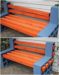 21 most creative cheap backyard patio ideas on a budget 1 ⋆ All About Home Decor Budget Patio, Diy Patio, Backyard Patio, Patio Ideas, Furniture Makeover, Diy Furniture, Cinder Block Furniture, Outdoor Seating, Outdoor Decor