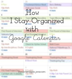 Wonder tips all about how to stay organized in college, school, or life using an online calendar. Calendar Organization, College Organization, Organizing Life, Paper Organization, Organising, College Teaching, College School, Online College, Education College