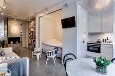 65 simple micro apartment layout ideas on a budget (42)