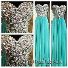 2015 sweetheart light green beading senior prom dresses, ball gown,evening dress