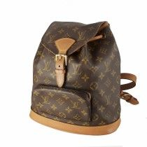 Louis Vuitton Montsouris MM i Monogram Canvas