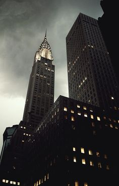 Chrysler Building, New York City. Reminds me of White Collar